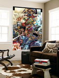 Avengers: The Initiative 19 Group: Spider-Man, Crusader, Captain America, Wolverine and Thor Wall Mural by Harvey Talibao