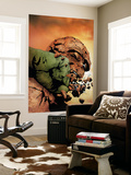Hulk & Thing: Hard Knocks No.3 Cover: Hulk and Thing Wall Mural by Jae Lee