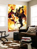 New Exiles 4 Cover: Marvel Universe Wall Mural by Michael Golden