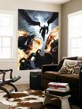 Ghost Riders: Heavens on Fire No.6 Cover: Ghost Rider and Zadkiel Premium bildetapet