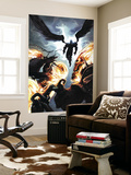 Ghost Riders: Heavens on Fire No.6 Cover: Ghost Rider and Zadkiel Wall Mural