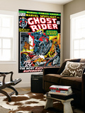 Marvel Spotlight No.5 Cover: Ghost Rider reproduction murale géante par Mike Ploog