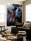 Siege No.1 Cover: Iron Man, Captain America and Thor Wall Mural by Olivier Coipel