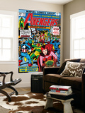 Avengers No.147 Cover: Scarlet Witch Wall Mural by George Perez