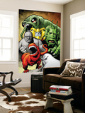 Marvel Monsters: Ulysses Bloodstone Group: Red Ronin and Fin Fang Foom Wall Mural