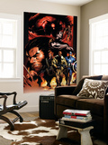Ultimate Nightmare No.1 Cover: Nick Fury, Captain America, Wolverine and Colossus Wall Mural by Trevor Hairsine