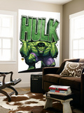 Marvel Adventures Hulk No.4 Cover: Hulk Wall Mural by David Nakayama