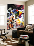 Ms. Marvel No.28 Cover: Ms. Marvel Wall Mural
