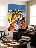 Avengers No.0 Annual Cover: Captain America Wall Mural