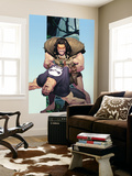 Punisher War Journal No.14 Cover: Punisher and Kraven The Hunter Wall Mural by Ariel Olivetti