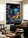 Spider-Man And The Fantastic Four No.3 Cover: Spider-Man Wall Mural by Mike Wieringo