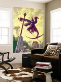 Hawkeye No.6 Cover: Hawkeye Wall Mural by Scott Kolins