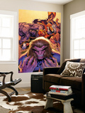 X-Men Forever No.2 Cover: Sabretooth Wall Mural by Tom Grummett