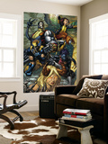 X-Infernus No.2 Cover: Darkchylde, Colossus, Wolverine, Nightcrawler, Pixie and Mercury Wall Mural by David Finch