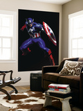 Secret War 3 Cover: Captain America Wall Mural