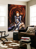 Secret Invasion: Inhumans No.4 Cover: Black Bolt and Medusa Wall Mural by Stjepan Sejic