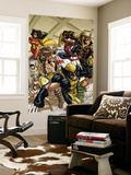 Incredible Hercules 138 Group: Wolverine, Spider-Man, Hercules, Wasp and Spider Woman Wall Mural by Rodney Buchemi