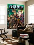Mark Brooks - Dark Reign: Young Avengers No.4 Group: Wolverine, Iron Patriot and Hawkeye Nástěnný výjev
