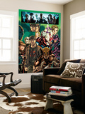 Dark Reign: Young Avengers 4 Group: Wolverine, Iron Patriot and Hawkeye Wall Mural by Mark Brooks