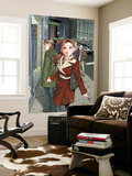 Mary Jane: Homecoming 1 Cover: Watson and Mary Jane Wall Mural by Takeshi Miyazawa