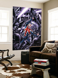 Captain Britain And MI: 13 No.8 Cover: Captain Britain Wall Mural by Bryan Hitch