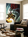 Beta Ray Bill: Godhunter 2 Cover: Beta-Ray Bill and Silver Surfer Wall Mural by Patrick Zircher