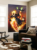 Ghost Riders: Heavens on Fire 5 Cover: Ghost Rider Wall Mural by Greg Land