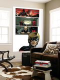 Captain Marvel 3 Headshot: Captain Marvel Wall Mural by Lee Weeks