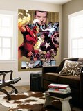 New Avengers No.48 Group: Captain America, Spider Woman, Ronin and Wolverine Wall Mural by Billy Tan