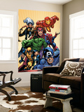 Marvel Two-In-One No.14 Cover: Avengers and X-Men Wall Mural by Kirk Leonard