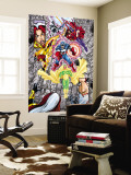 Avengers No.12 Group: Vision Wall Mural by George Perez
