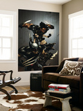 X-Force No.1 Cover: Wolverine, X-23, Wolfsbane and Warpath Wall Mural by Clayton Crain
