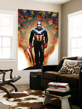 Captain America No.50 Cover: Captain America Wall Mural by Steve Epting