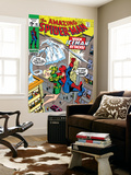 Amazing Spider-Man 92 Cover: Spider-Man, Stacy, Gwen and Iceman Wall Mural by Gil Kane