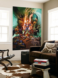 Dark Avengers/Uncanny X-Men: Utopia No.1 Cover: Iron Patriot Wall Mural by Marc Silvestri
