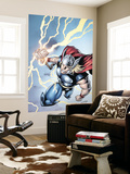 Marvel Adventures Super Heroes No.7 Cover: Thor Wall Mural by Salva Espin