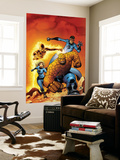 Fantastic Four No.509 Cover: Mr. Fantastic, Invisible Woman, Human Torch, Thing and Fantastic Four Wall Mural by Mike Wieringo