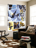 Sable &amp; Fortune 3 Cover: Silver Sable Charging Wall Mural by John Burns