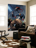 Young Avengers No.8 Group: Mr. Hyde Wall Mural by Andrea Di Vito