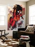 Spider-Woman No.5 Cover: Spider Woman Wall Mural by Alex Maleev