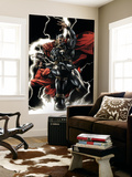 Thor No.607 Cover: Thor Wall Mural by Mico Suayan