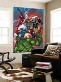 Marvel Adventures The Avengers No.36 Cover: Hulk Reproduction murale par Ig Guara