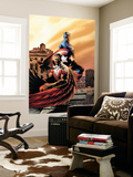 Captain America & The Falcon 5 Cover: Captain America and Falcon Wall Mural by Steve Epting