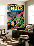 Incredible Hulk No.332 Cover: Hulk Fighting Wall Mural by Todd McFarlane
