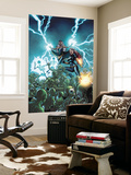 Black Widow & The Marvel Girls No.4 Cover: Storm and Black Widow Wall Mural by Salva Espin