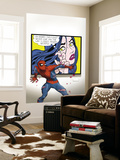 The Amazing Spider-Man 560 Cover: Spider-Man and Paper Doll Wall Mural by Marcos Martin