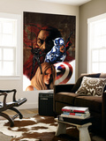 Captain America No.36 Cover: Captain America and Black Widow Wall Mural by Steve Epting