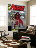 Avengers West Coast No.47 Cover: Scarlet Witch and Vision Wall Mural by John Byrne