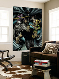House Of M: Avengers No.4 Group: Cage, Luke, Iron Fist, Cloak and Moon Knight Wall Mural by Mike Perkins