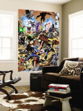 Avengers 99 Annual Cover: Captain America, Thor, Iron Man, Wonder Man and Avengers Wall Mural by Leonardo Manco